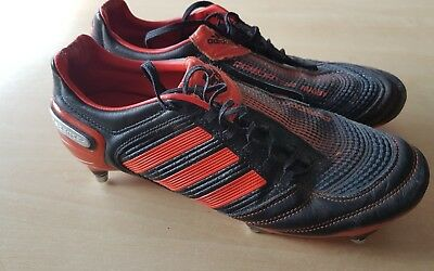 Adidas Predator Rugby Metal Studs Rugby Boots Size UK 10