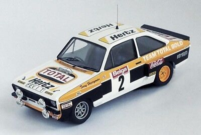 1/43 Trofeu Ford Mk2 Escort RS 1800  Total Malcolm Wilson Haspengouw Rally 1980