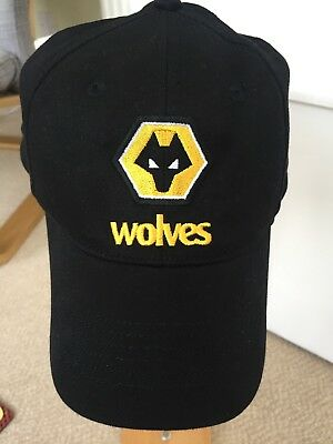 Official Wolves Baseball Cap - Size Label 54cm (Adult - S/Youth - L)