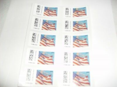 NEW! 2018 USPS  FOREVER STAMPS - Amer. Flag - 5 sheets of 10 = 50 total stamps