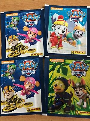 15 packs X Nickelodeon paw patrol Panini Stickers New Sealed