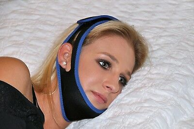 Blue Jay CPAP Anti-Snore Chin Strap, Blue/Black, #BJ240180..$16.00