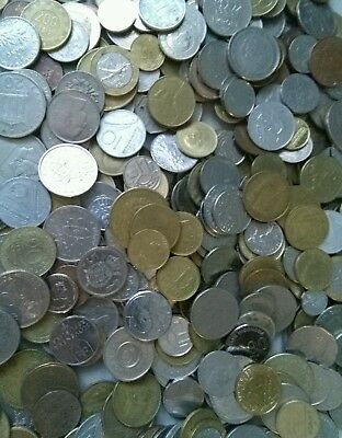 Job Lot Of Coins mostly  foreign currency coins Lot H