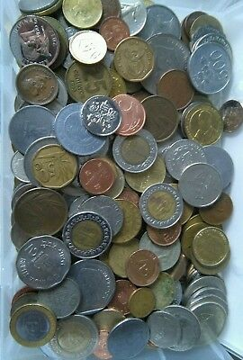 Job Lot Of Coins mostly  modern foreign currency Lot E