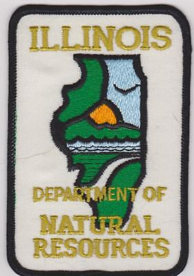 Illinois DNR Natural Resources Ranger Biologists Game Warden Police Patch