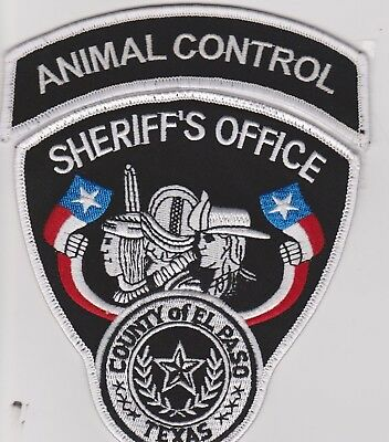 Texas El Paso Sheriffs Office Animal Control Officer Police Patch