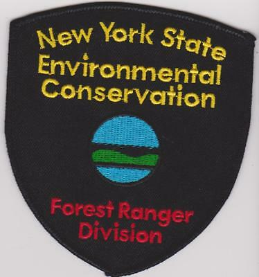 State of New York Environmental Conservation Forest Ranger Police Patch