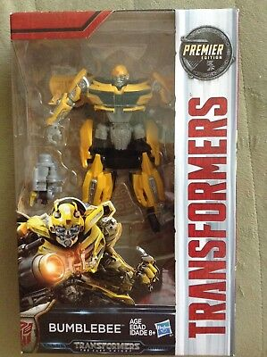 TRANSFORMERS The Last Knight  PREMIER EDITION DELUXE CLASS BUMBLEBEE