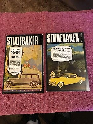 2 Books On Studebaker:the 2Nd  Fifty Yearss 1902-1952 & The Last Years 1952-1966