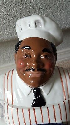 New What's Cookin Clay Art Collectible Cookie Jar Americana