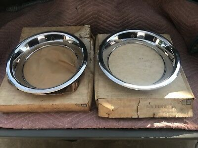 Vintage Oldsmobile Cutlass 442 Ssii Ssiii 419269 Trim Rings Nos Gm New Rare