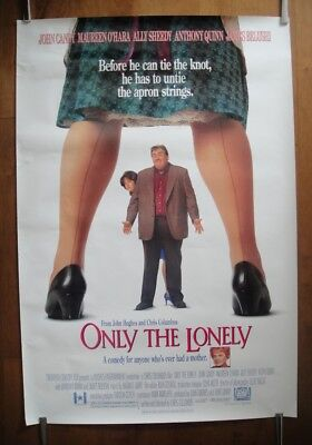 Only The Lonely (1991) Original One Sheet Movie Poster ROLLED John Hughes Film