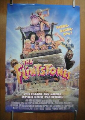 The Flintstones (1994) Original One Sheet D/S Movie Poster ROLLED Near Mint
