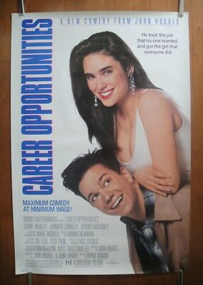 Career Opportunities (1991) Original One Sheet D/S Movie Poster ROLLED
