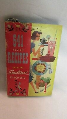 Very Cool 1954 Sealtest Kitchens 641 Tested Recipes