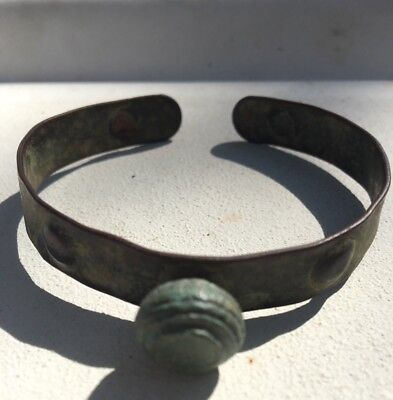 Ancient Bronze Celtic Bracelet