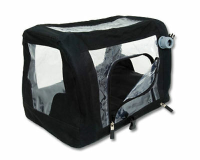 "Jorgy Buster ICU Cage Medium 24"" X 18"" X 18"" Pets Controlled Oxygen Easy Storage"