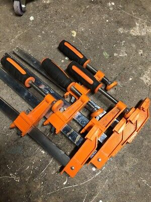 4 Jorgensen Clamps Pony 3712 Hd Heavy Duty Bar Clamps