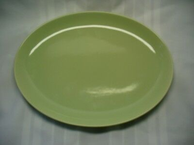 """Russell Wright Iroquois Casual Lettuce Green 12 5/8"""" Platter"""