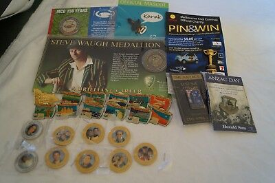 Bargain Bulk Lot 25 + - Badges, Medals, Pins - Sports and Other