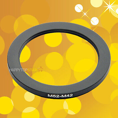M52-M42 52mm Male to 42mm Female Screw Mount Camera Ring Adapter For Lens