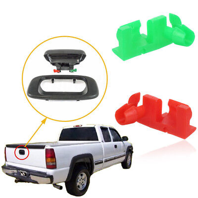 Pair Replacement Tailgate Handle Rod R&L Clip For GM Chevy Silverado GMC Sierra
