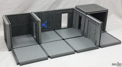 "COMPLEX Base Building System 12-Unit Urban Kit dioramas for 4"" action figures"
