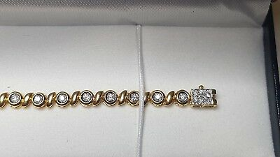 Bracelet OR 750°°° ET DIAMANT