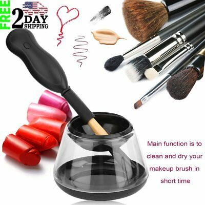 Electric Makeup Cosmetic Brushes Brush Cleaner Drying Washing Machine Tools OY