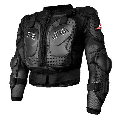 Motorcycle Motorcross Racing Full Body Armor Spine Chest Gear Protective Jacket