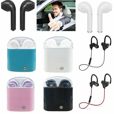 Wireless Bluetooth Earbud Pods/Sports Headset For iPhone 6 7 8 X Android USA