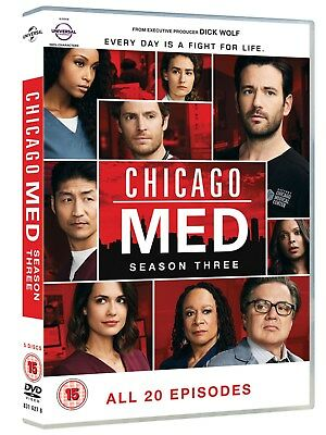 Chicago Med: Season Three (Box Set) [DVD]