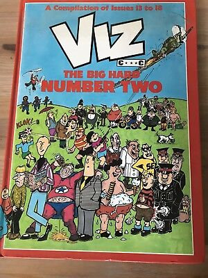 Vintage Viz Comic Second Annual - The Big Hard Number Two Issues 13 To 18, 1989