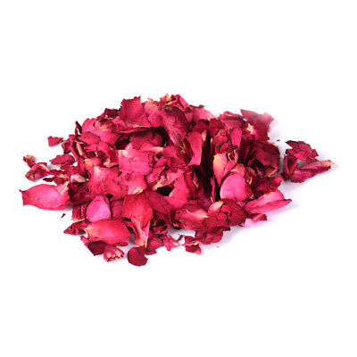 30g Dried Rose Petals Natural Dry Flower Petal Spa Whitening Shower Bath Too WK