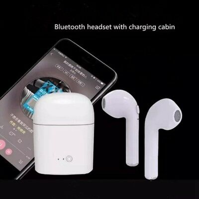 TWS Dual Wireless Bluetooth Earbuds Headset In-Ear headphones for Apple iPhone