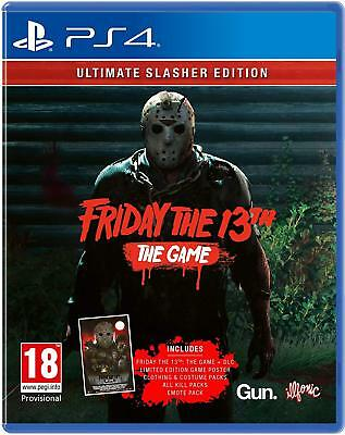 Friday The 13th The Game Ultimate Slasher Edition PS4 Game - Pre Order