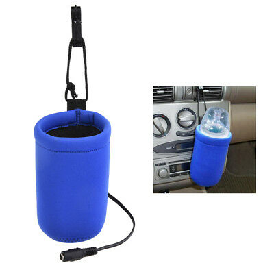 12V Food Milk Water Drink Bottle Cup Warmer Heater Car Auto Travel for Baby Kids