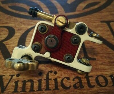 Dan Kubin tattoo machine