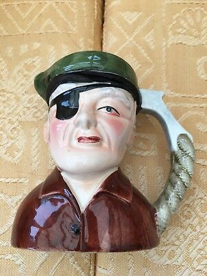 Eye Patch Toby Jug