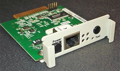Genuine Okidata OkiLAN 6120i/e Ethernet Print Server Card