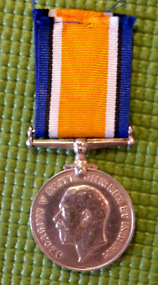 WWI Sterling Silver British Empire War Medal ID'D Royal Army Medical Corps