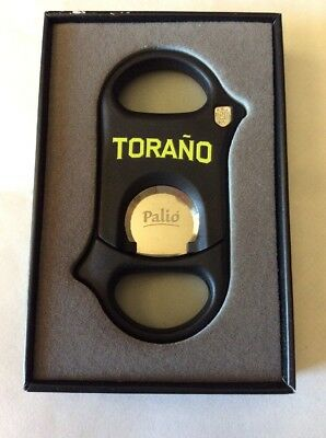 Palio Guillotine Cigar Cutter Hardened Surgical Steel Blades -   (Torano)