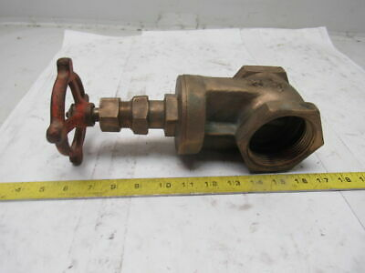 "Stockham B-103 125S 2-1/2"" Bronze Gate Valve"