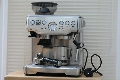 Sage BES870UK Coffee & Espresso Combo - Silver