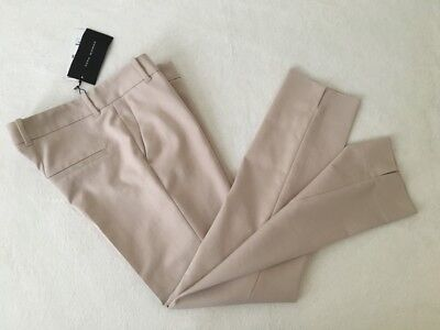 Zara Ankle Crop Trousers 'Sand/Beige' (S/MEX26) (RRP £35.99) 20% Disc