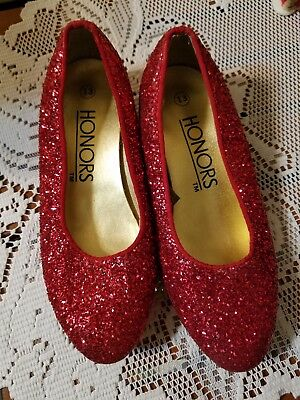 wizard of oz dorothy ruby red slippers shoes halloween theatre