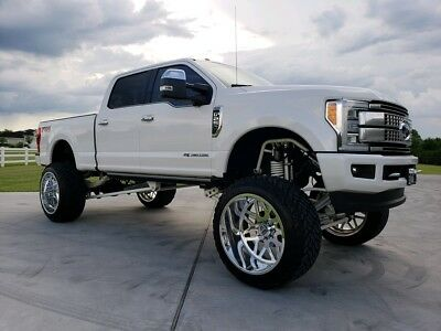 2017 Ford F-250  2017 Ford F250 Platinum Lifted