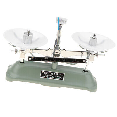 500 Gram Mechanical Table Balance Scale with 7 Precision Calibration Weigths