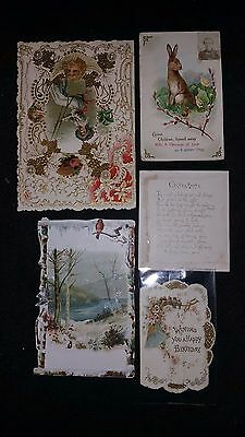Antique set of Greeting Cards SEE DESCRIPTION