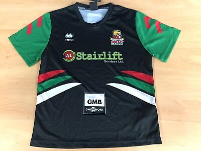 Keighley Cougars errea Player Issue Training T-Shirt - LARGE